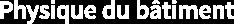 Physique du bâtiment Logo