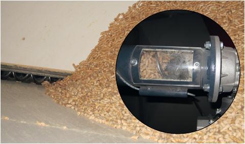Holzpellets ermöglichen die weitgehende Automatisierung der Holzheizung.