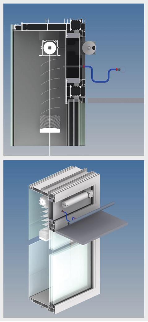 Systemaufbau einer CCF mit visualisierter Innenansicht
