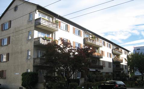MFH Voltastrasse 23 bis 27, Luzern, vor der Sanierung.