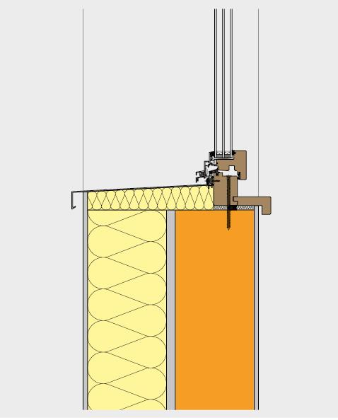 Fensterersatz mit neuem Holz-Metall-Fenster.