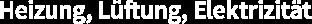 Heizung, Lüftung, Elektrizität Logo
